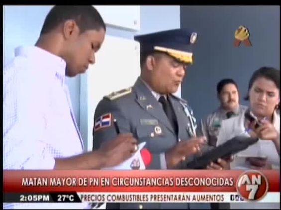 Matan Mayor PN En Circunstancias Desconocidas #Video