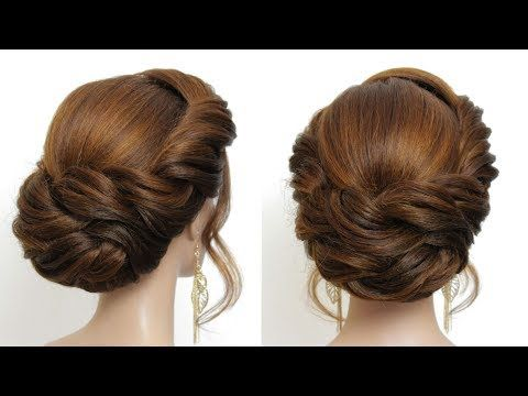 New And Easy Hairstyle 2019 For Girls Hair Tutorial Youtube Hair Tutorial Easy Hair Updos Easy Hairstyles