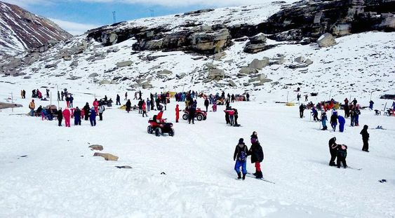 rohtang pass images today for honeymoon