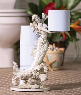 Toilet paper holder, for that beach themed bathroom