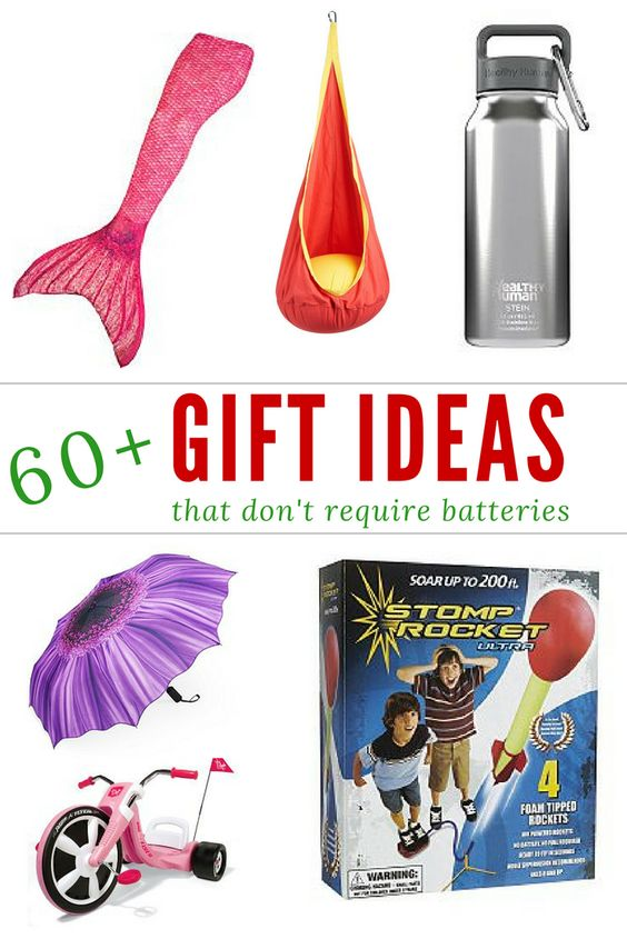 Are you looking for a unique and fun gift? This list is filled with gift ideas perfect for every occasion; and the best part is: BATTERIES ARE NOT REQUIRED!