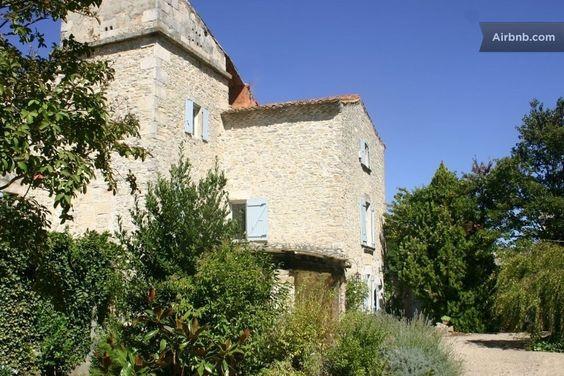 XVIII century home in the garden in Saint-Gervasy