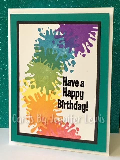 Splitcoaststampers Fs627 Rainbow Birthday Rainbow Birthday Rainbow Card Card Creator