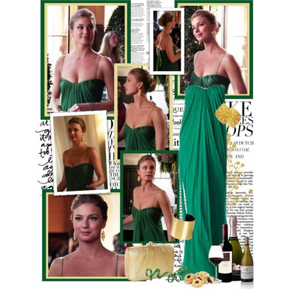 Emily Thorne by productionkid on Polyvore featuring Accessorize, Blond Accessories, Julie Tuton Jewelry, Le Moine, Holmegaard, Harrods, Caslon, women's clothing, women's fashion and women