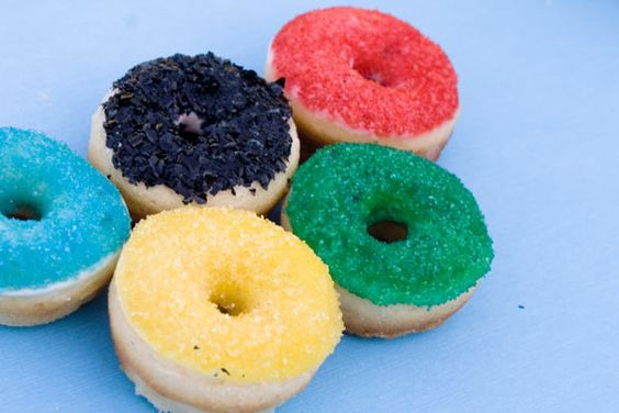 simple donut sprinkles might be good enough