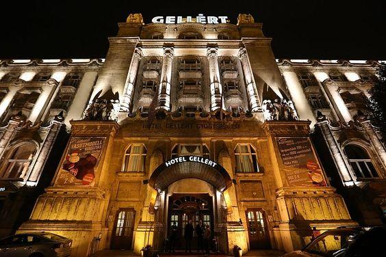 Gellért Hotel, Budapest, Hungary