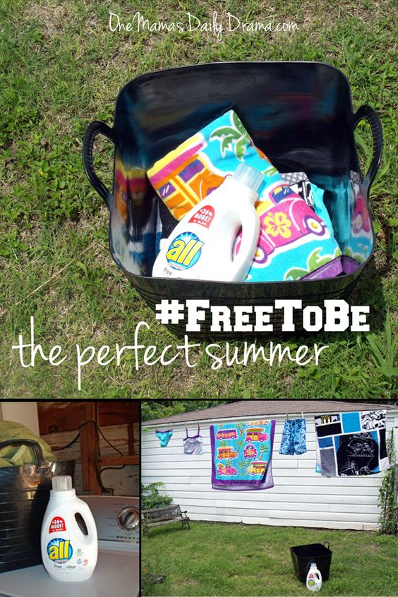 Free to be the perfect summer | One Mama's Daily Drama --- The answer to the scheduled vs unscheduled summer debate. This is what works for us!