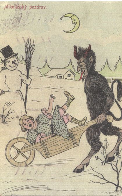 Krampus.com :: home of the holiday devil :: Krampus Gallery - via http://bit.ly/epinner: