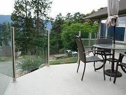 plexiglass railings for decks - Google Search