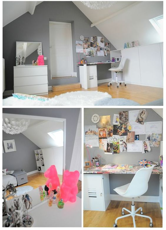 Lille on pinterest - Decoration de chambre fille ado ...