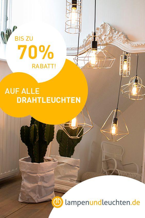 Pin von LampenundLeuchten.de auf Bis zu 70 % Rabatt auf ...