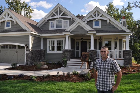 Single Story Craftsman House Plans | Ranch - Rambler Floor Plans - Brandl Anderson Homes - New Home