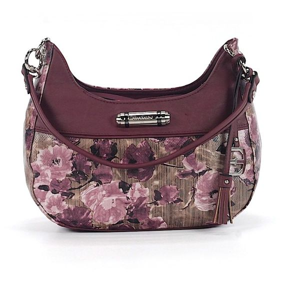 Pre-owned Ellen Tracy Shoulder Bag: Burgundy Women's Bags (81 SGD) ❤ liked on Polyvore featuring bags, handbags, shoulder bags, burgundy, purse shoulder bag, ellen tracy, pre owned purses, ellen tracy purses and ellen tracy handbags