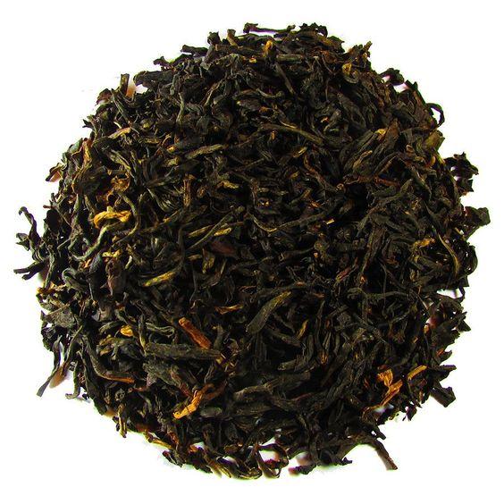 Manjushree India Black – Full Leaf Tea Company  A fine Assam Black tea with light golden tips. Beautiful to look at with a wonderful taste!