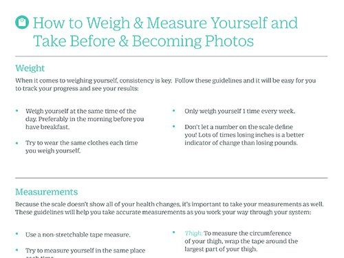 How To Weigh Measure How To Measure Yourself Resources Ignite