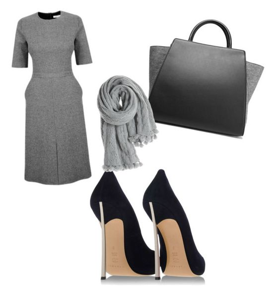"""Untitled #517"" by marxendjie on Polyvore featuring ZAC Zac Posen, Victoria, Victoria Beckham, Casadei, Calypso St. Barth, women's clothing, women's fashion, women, female, woman and misses"
