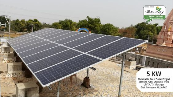 5 Kw Solar Panel System Installation Completed By U R Energy India Pvt Ltd At Visnagar Gujarat India Residential Solar Panels Solar Roof Solar Panel