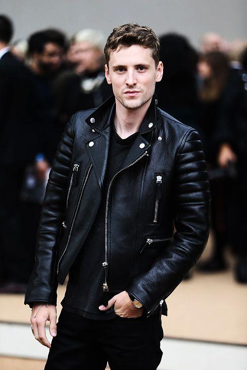 Leather Mens Biker Jacket QlrtlM
