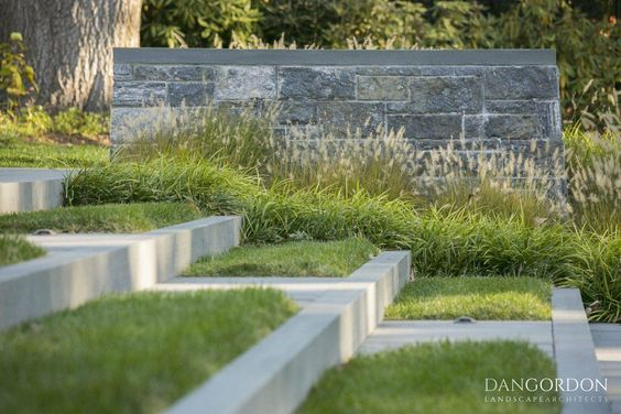 From the Portfolio of Dan Gordon Landscape Architects