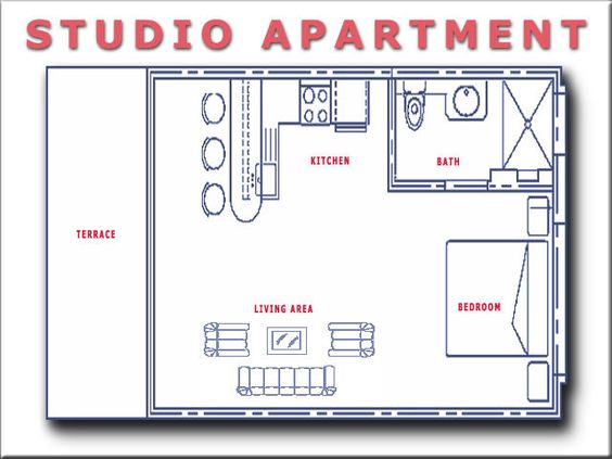 Studio Apartment Floor Plans Evergreen Terrace Apartments