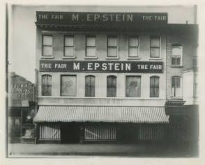 The First M Epstein Store On The Green In Morristown NJ Morristown Jersey