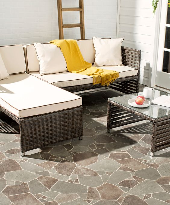 Three-Piece Winona Wicker Outdoor Set