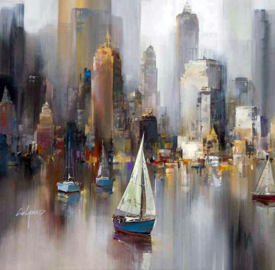 Wilfred lang tableaux peinture pinterest beautiful for Tableau moderne new york