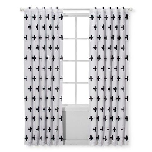 When Baby Sleeps Well So Do You And With The Black And White Light Blocking Window Panel From White Kids Curtains Boys Room Curtains Light Blocking Curtains