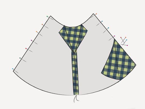 DIY-Anleitung: Skater-Kleid mit weitem Rock nähen via DaWanda.com
