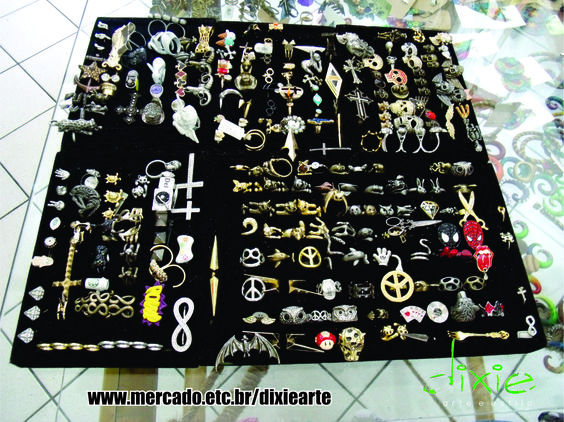 Anéis da Dixie Arte !!!!  www.mercado.etc.br/dixiearte