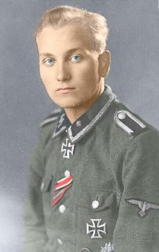 SS-Oberscharführer HARALD NUGISEKS (*22.10.1921), Knight's Cross holder from Estonia. Kept in soviet captivity until 1958 (!).