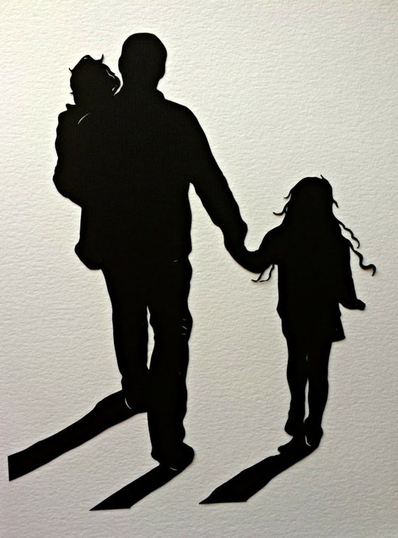 Custom Silhouette for Unique Gift : by SilhouettesbyElle on Etsy