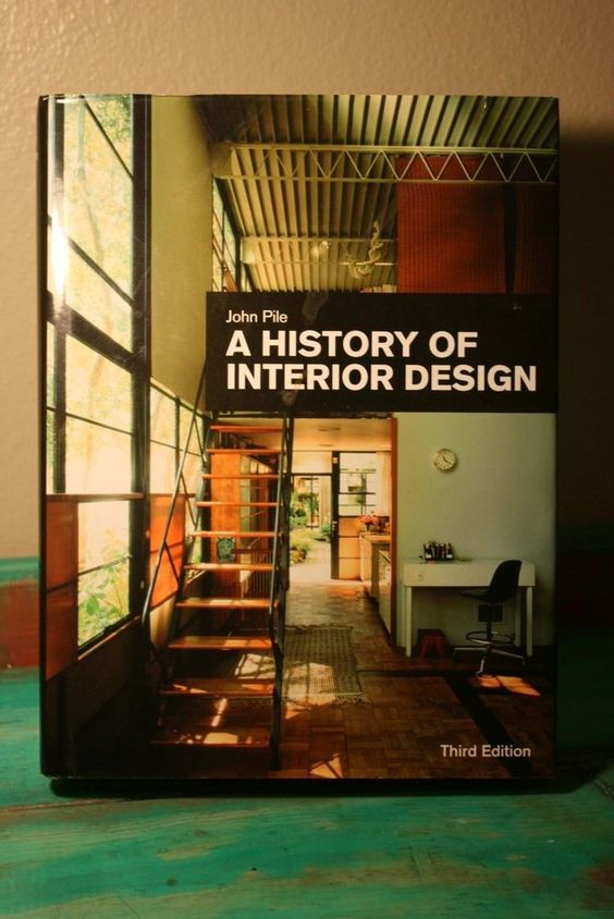 A History of Interior Design by John F. Pile (2009, Hardcover) #Textbook |  Books Books & More Books | Pinterest | Interiors