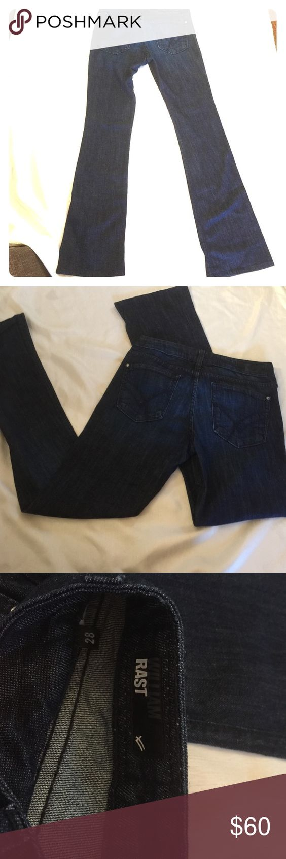 William Rast blue jean perfect condition. Size 28 William Rast dressy jeans size 28 bootcut. These are in perfect condition. Only worn once. Will be great for any occasion. William Rast Jeans Boot Cut