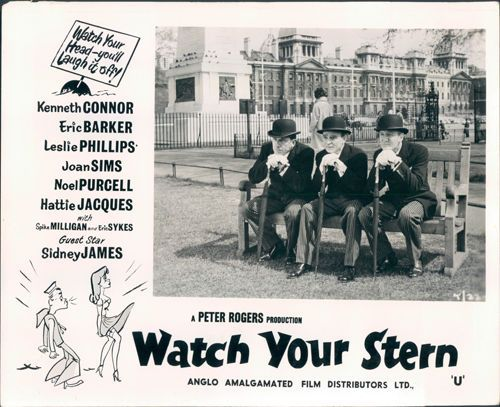 Details about Carry on Watch Your Stern lobby card Kenneth Connor ...