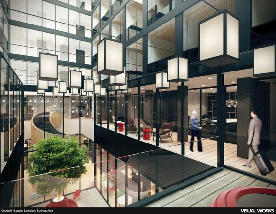 CitizenM London Bankside London Concrete Architectural - Citizenm london bankside by concrete architectural associates