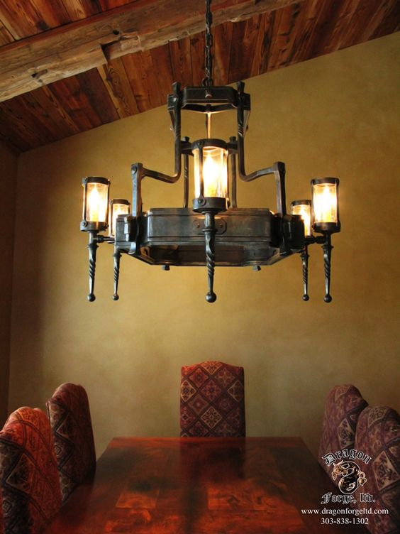Arts And Crafts Style Chandeliers: Arts and Crafts Style Chandelier,Lighting