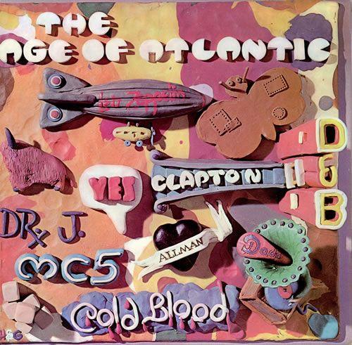 Great design Atlantic Records, The Age Of Atlantic -  vinyl LP album  1970