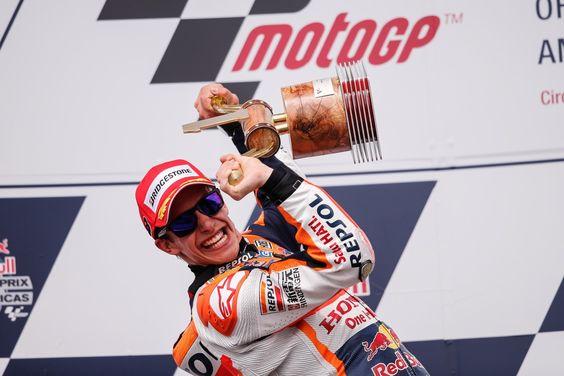 MotoGP Austin: Marquez cala il 'tris', seguono Dovizioso e Rossi