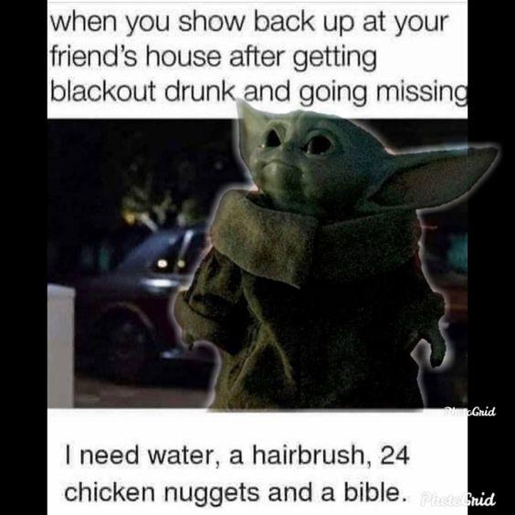 Baby Yoda Yoda Funny Yoda Meme Memes