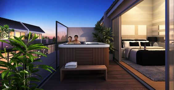roof terrace in singapore with jacuzzi - Google Search roof
