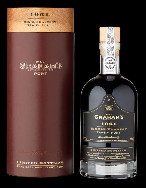 Grahams 1961 Single harvest Tawny Port from The Fareham Wine Cellar:
