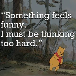 Pooh must be learning Tai Chi. (thanks/reposted from William Brown of The Tai Chi Players):