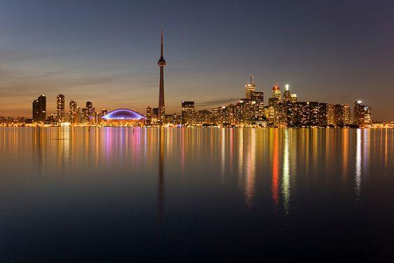 Downtown Toronto, Ontario Skyline by InterContinental Toronto Yorkville, via Flickr