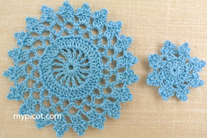 Pattern with diagram for large and small motifs and ...