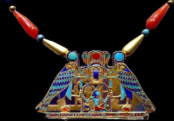 "Pharaoh Senwosret II ""Khaképer Rê"" (Sésostris II) of the 12th Dynasty pectoral #OromoEgypt"