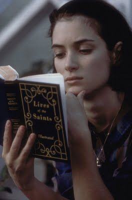 Winona Ryder as Charlotte Flax, Mermaids (1990): Film, Books, Reading, Winona Ryder, Ryder Mermaids, Movies, Winona Forever