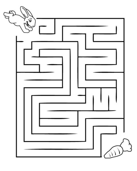 20 Assorted maze activity sheets