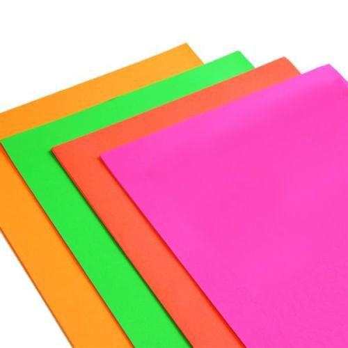 A4 Art Paper 20 Sheets Assorted Colours