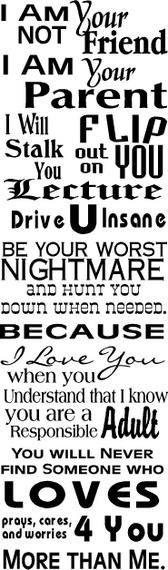 ALWAYS TRUE! Love this!